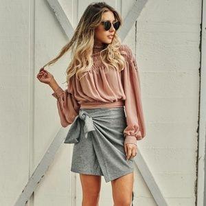 NanaMacs Wrap Skirt